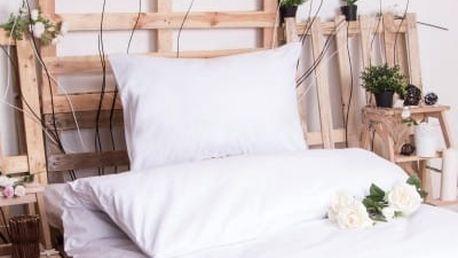 XPOSE ® Bavlněné povlečení JIŘINA - bílá 140x200, 70x90