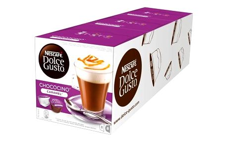 Kapsle pro espressa Nescafé Dolce Gusto Choco Caramel 3 balení