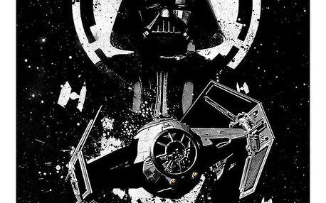 Nástěnná cedule PosterPlate Star Wars Pilots - Tie Advanced