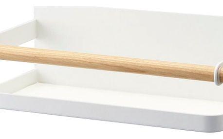 Bílá magnetická polička na kořenky YAMAZAKI Tosca