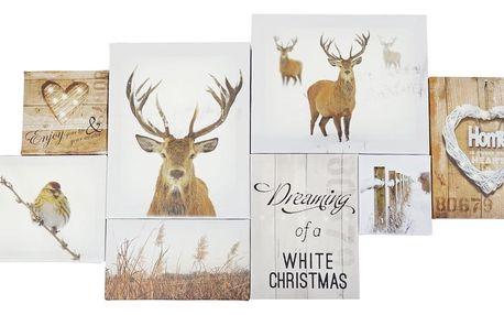 Obraz Ewax Reindeers, 80 x 40 cm