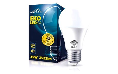 ETA EKO LEDka klasik, 15W, E27, teplá bílá (A60-PR-1521-16A)