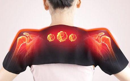 Turmalínový zahřívací pás pro krk a ramena