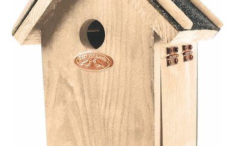 Ptačí budka z borovicového dřeva Esschert Design Antik, výška27,4cm