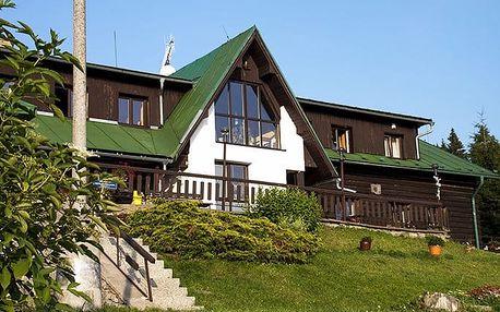 3–8denní wellness pobyt se snídaněmi pro 2 osoby v penzionu Pohlednička v Krkonoších