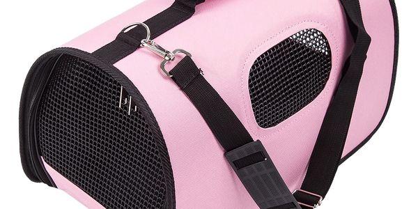 Transportní taška na domácího mazlíčka, růžová