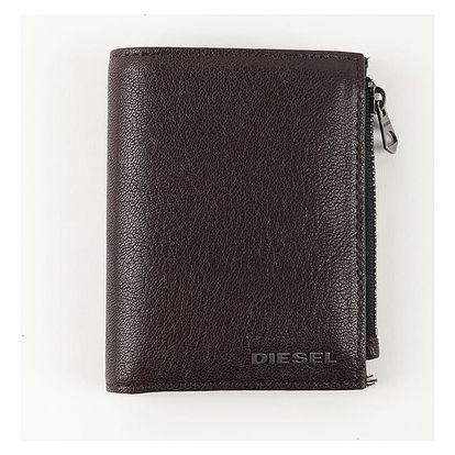 Peněženka Diesel Gipsum - Wallet Hnědá