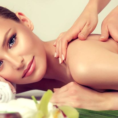 Balíčky relaxačních masáží se zábalem dle výběru