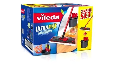 Mop sada Vileda Ultramax set box (140910) Aviváž Silan Fresh Sky 925 ml (zdarma)