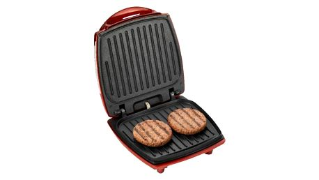 Výrobník hamburgerů Ariete Party Time ART 185 červený + Doprava zdarma