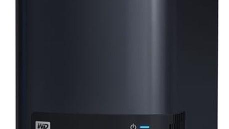 Datové uložiště (NAS) Western Digital Ultra (WDBVBZ0000NCH-EESN) černé 2xHDD, CPU 2,66GHz, 1GB, 1xGb/s, 2xUSB 3.0 + DOPRAVA ZDARMA