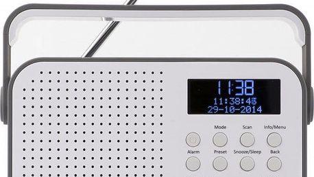 Přenosný radiopřijímač Akai ADB20GY