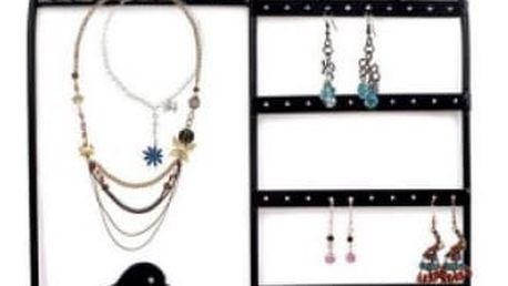 Stojánek na šperky a náušnice Ptačí klec
