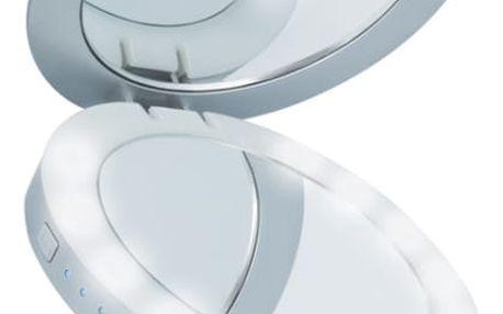 Power Bank Beeyo 3000mAh, zrcátko (BAEPOWER3000BEESI) stříbrná