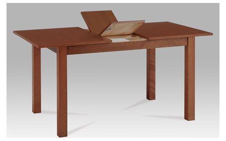 Jídelní stůl rozkládací 120+30x80x75 cm, barva třešeň BT-6930 TR3 Autronic