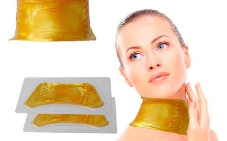 Anti-age kolagenová maska na krk