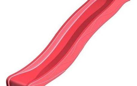 Skluzavka CUBS s přípojkou na vodu 2,95 m červená