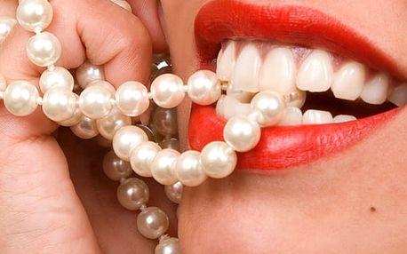 Účinné a šetrné bělení zubů LED lampou a bezperoxidovým gelem s možností remineralizace.