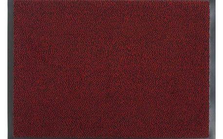 Vopi Vnitřní rohožka Mars červená 549/001, 80 x 120 cm