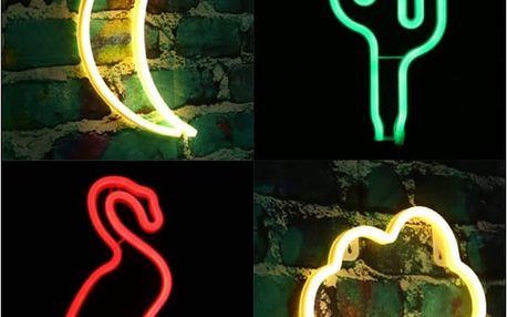 LED neonová barevná lampička na USB
