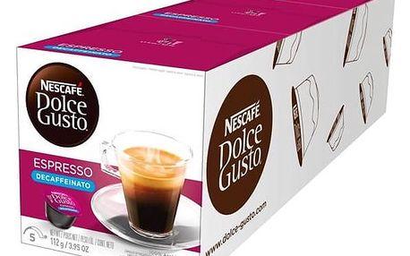 Kapsle pro espressa Nescafé ESPRESSO BEZ KOFEINU 3 balení
