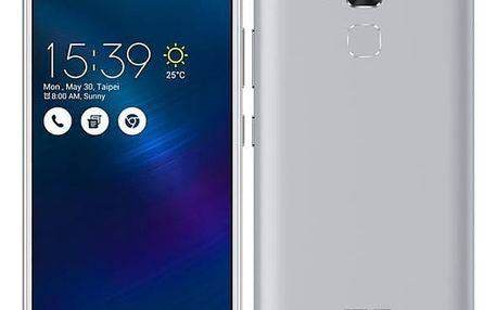 Mobilní telefon Asus ZenFone 3 Max ZC520TL (ZC520TL-4J078WW) stříbrný Software F-Secure SAFE, 3 zařízení / 6 měsíců + Sluchátka Asus FoneMate s pouzdrem bílý v hodnotě 979 Kč + DOPRAVA ZDARMA