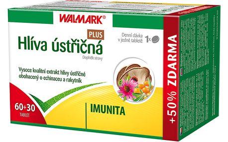 Walmark Hlíva ústřičná PLUS rakytník + echinacea 60+30tbl.
