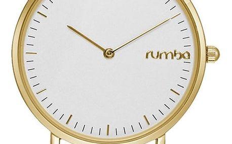 Černozlaté hodinky Rumbatime SoHo Lea - doprava zdarma!