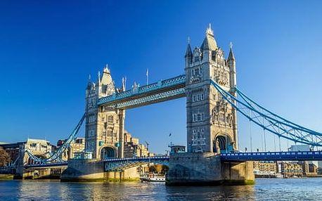 Londýn, 4denní zájezd pro 1 osobu s 1 nocí se snídaní