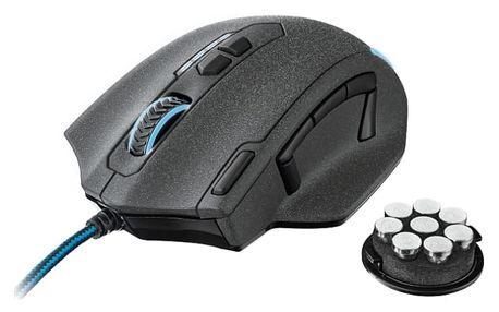 Myš Trust GXT 155 Gaming (20411) černá / optická / 11 tlačítek / 4000dpi