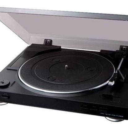 Gramofon Sony PS-LX300USB (PSLX300USB.CEL) černý + DOPRAVA ZDARMA