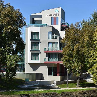 Maďarsko v Portobello Wellness & Yacht Hotelu přímo propojeném s termály
