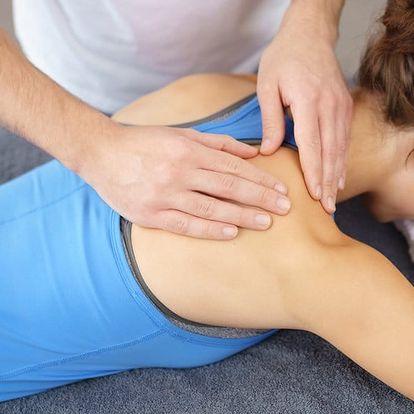 Regenerační masáž od nevidomého maséra