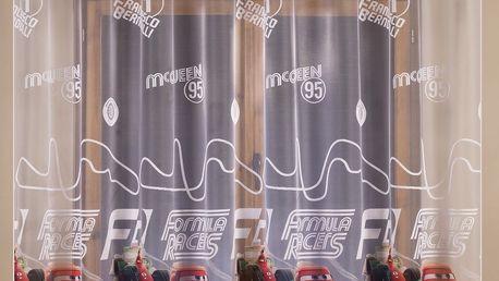 Záclona Disney Cars, 300 x 160 cm