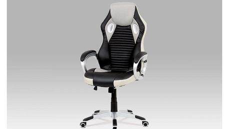 Kancelářská židle KA-G277 GREY šedá Autronic