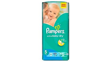 PAMPERS Active Baby VPP Junior 11-18kg 50 kusů