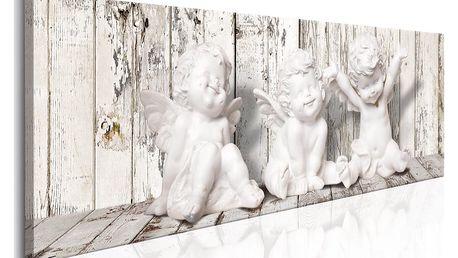 Obraz na plátně - Laughing Cherubs 120x40 cm