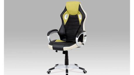 Kancelářská židle KA-G277 GRN zelená Autronic