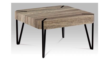"""Konferenční stolek AHG-242 CAN dub """"Canyon grey"""" / černá matná Autronic"""