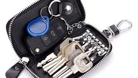 Elegantní kožené pouzdro na klíče