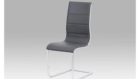 Jídelní židle WE-5030 GREY šedá Autronic