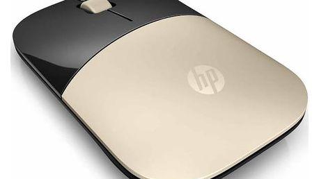 Myš HP Z3700 (X7Q43AA#ABB) zlatá