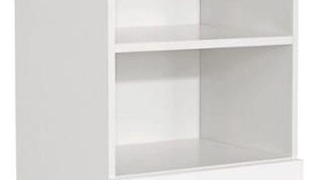 Vysoká skříň fiola, 50/192/33,5 cm