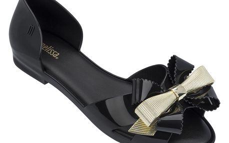 Melissa černé sandály Seduction III Black/Gold