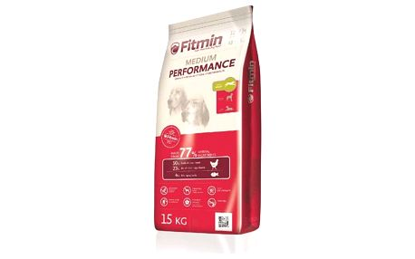 Granule FITMIN dog Medium Performance - 15 kg + Doprava zdarma