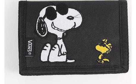 Peněženka Vans MN SLIPPED Peanuts Černá