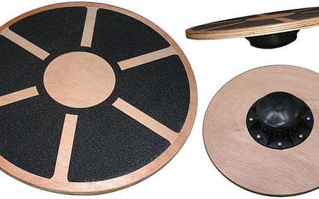 Dřevěná balanční podložka (deska)