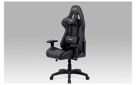 Kancelářská židle KA-F03 BK Autronic
