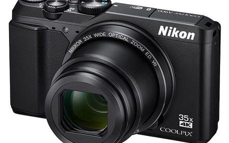 Digitální fotoaparát Nikon Coolpix A900 černý + DOPRAVA ZDARMA