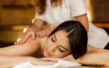 Hodinová dovolená: thajská či zahřívací masáž
